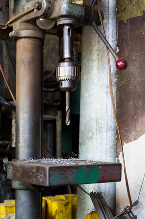 gimlet: Drill Machine Stock Photo
