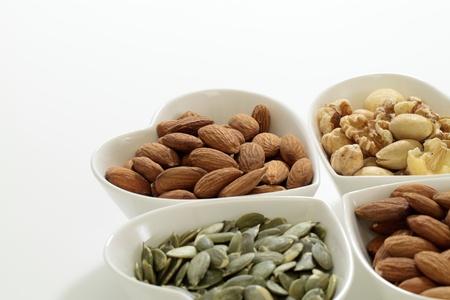 Pumpkin seed   Almond   Mix nut