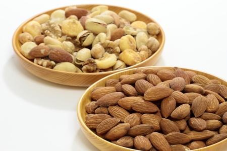 Almond   Mix nut Stok Fotoğraf