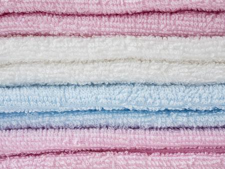 Gentle color cotton towels