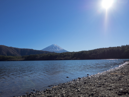 saiko: Beautiful Mount Fuji and Lake Saiko