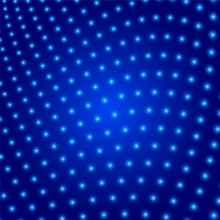 Abstract background enveloped glowing circles Vector