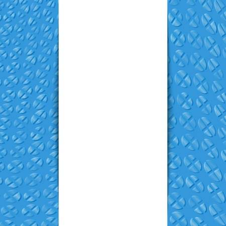 convex: Abstract geometric convex divided circle background with place for your text