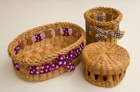 An empty basket  photo