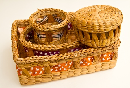 An empty basket Stock Photo - 13059541