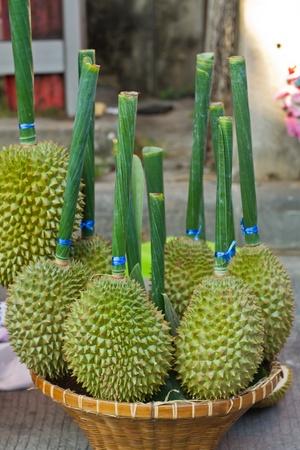 Durian in market
