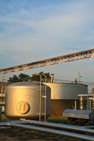 A sewage treatment plant Stock Photo - 13244263