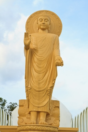 Buddha imagestand Stock Photo - 13282577