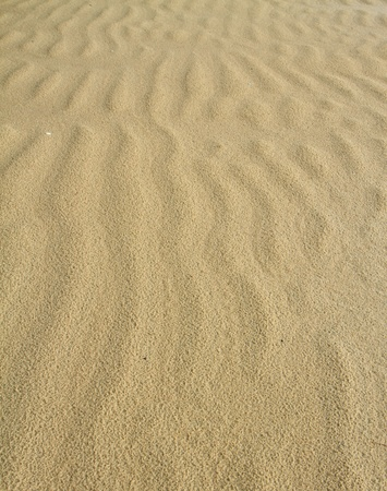 rain drop on sand and wave , background