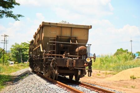 waggon: diesel train transport  pebble