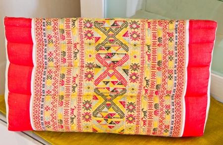 Thai painting cushion Stock Photo - 13775826
