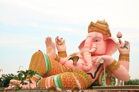 Antique Ganesha statue photo