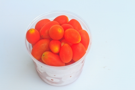 tomatos in cup photo
