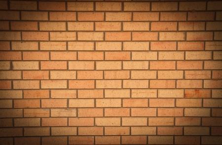 brick wall light center Stock Photo - 14642120