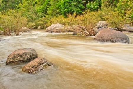 Beautiful Unesco Haew Suwat Waterfall in Khao Yai, Thailand