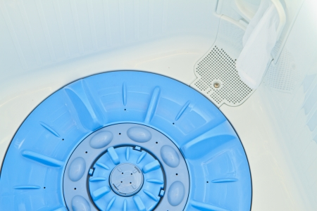 This inside the washing machine Stock Photo - 16388069