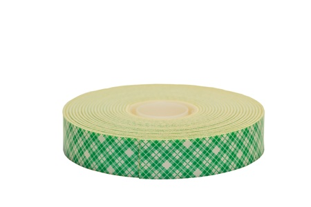 roll of masking tape isolated on white