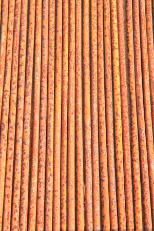 Rusty background A rusty old metal pipe Stock Photo - 16908907