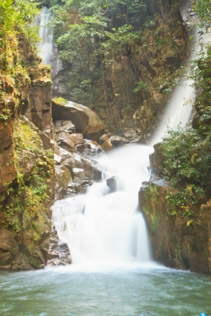 Namtok Phlio, Phlio waterfall national park in Chanthaburi Province Thailand  photo