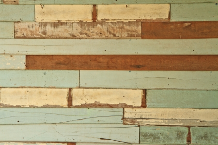 old white wood wall Stock Photo - 17503014