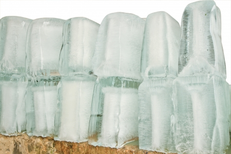 Big pieces of ice, Can use  background photo