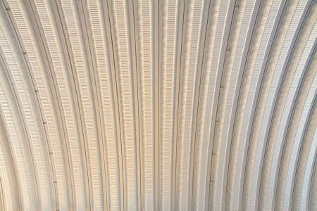 Corrugated metal sheet roof, You can use background photo