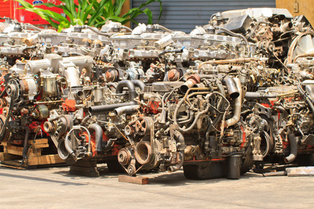 secondhand: engines is  secondhand and very old