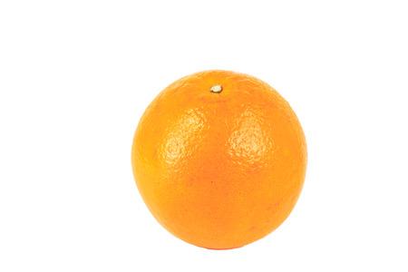 tangerine or orange isolated on white background