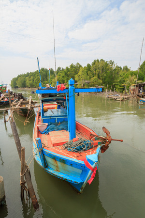Fishing Village located at TRAT province, Thailand
