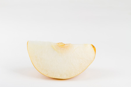 Chinese pear isolated on white background