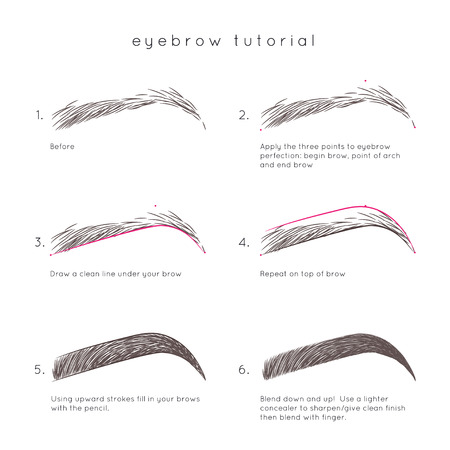 Eyebrow Tutorial. How to make up eyebrow