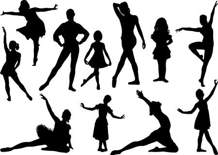 lyrical dance: Ballet sulhouette 2