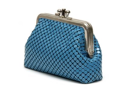 Blue pouch photo