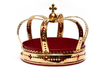 corona real: Corona de oro