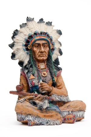 plains indian: Indian chief