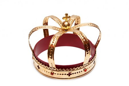 corona rey: Oro crecido
