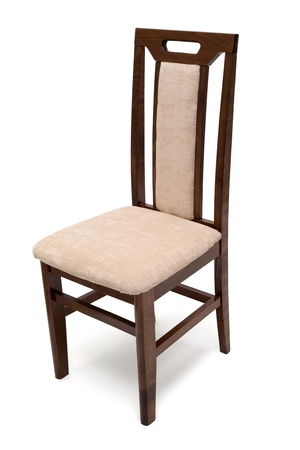Wooden chair isolated Stock Photo - 20735527