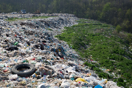 Landfill-destruction of nature