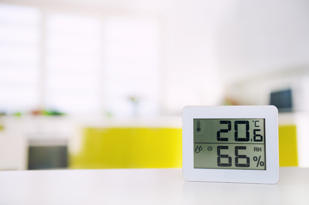 Measurement of the temperature and humidity in the room