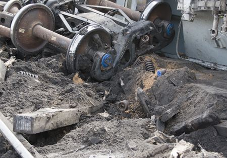 wrecks: Train Derailment
