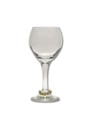 Wineglass with Charm Stok Fotoğraf