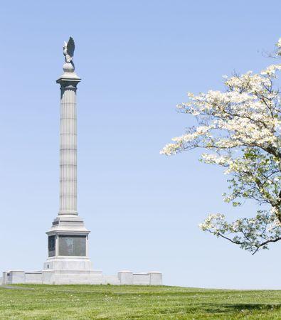 Monument at Antietam Imagens