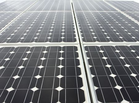 petrol powered: Solar Panels