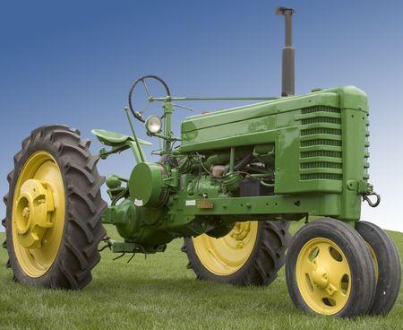 Farm Tractor Stok Fotoğraf - 2918072