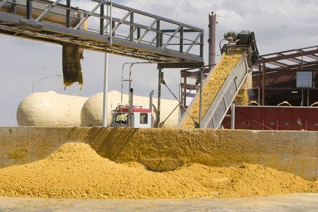 Subproductos de maíz producido a partir de un proceso de fermentación de etanol