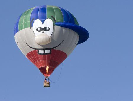 Happy Hot-Air Balloon