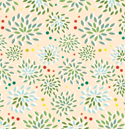 Seamless floral pattern Stock Vector - 16791611