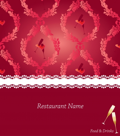 Special menu design Vector