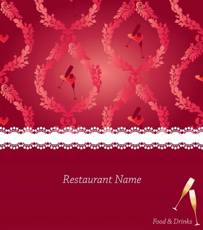 Special menu design Vector