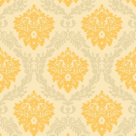royal background: seamless damask wallpaper